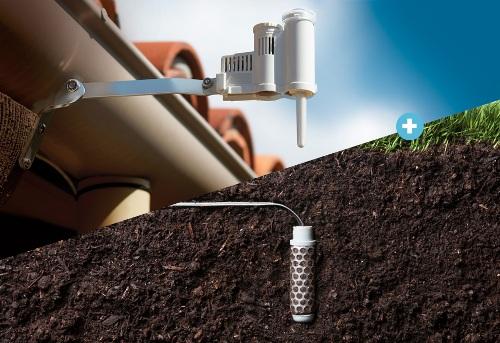 Az öntözőrendszer alkotó elemei, Esőérzékelő, fagyérzékelő, talajnedvességérzékelő
